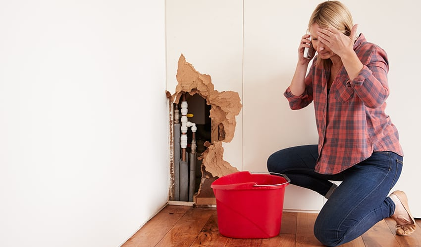 call for emergency plumbing or heating services
