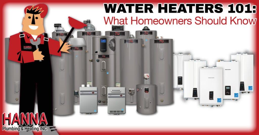 Water Heaters 101